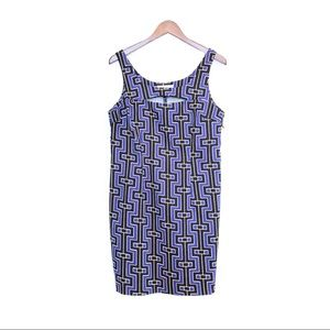 🌈3/$30 Michael Kors, Mini Dress, Prpl/Blk/Crm, 10